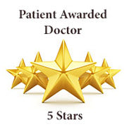 5 Stars - Patient Awarded Doctor