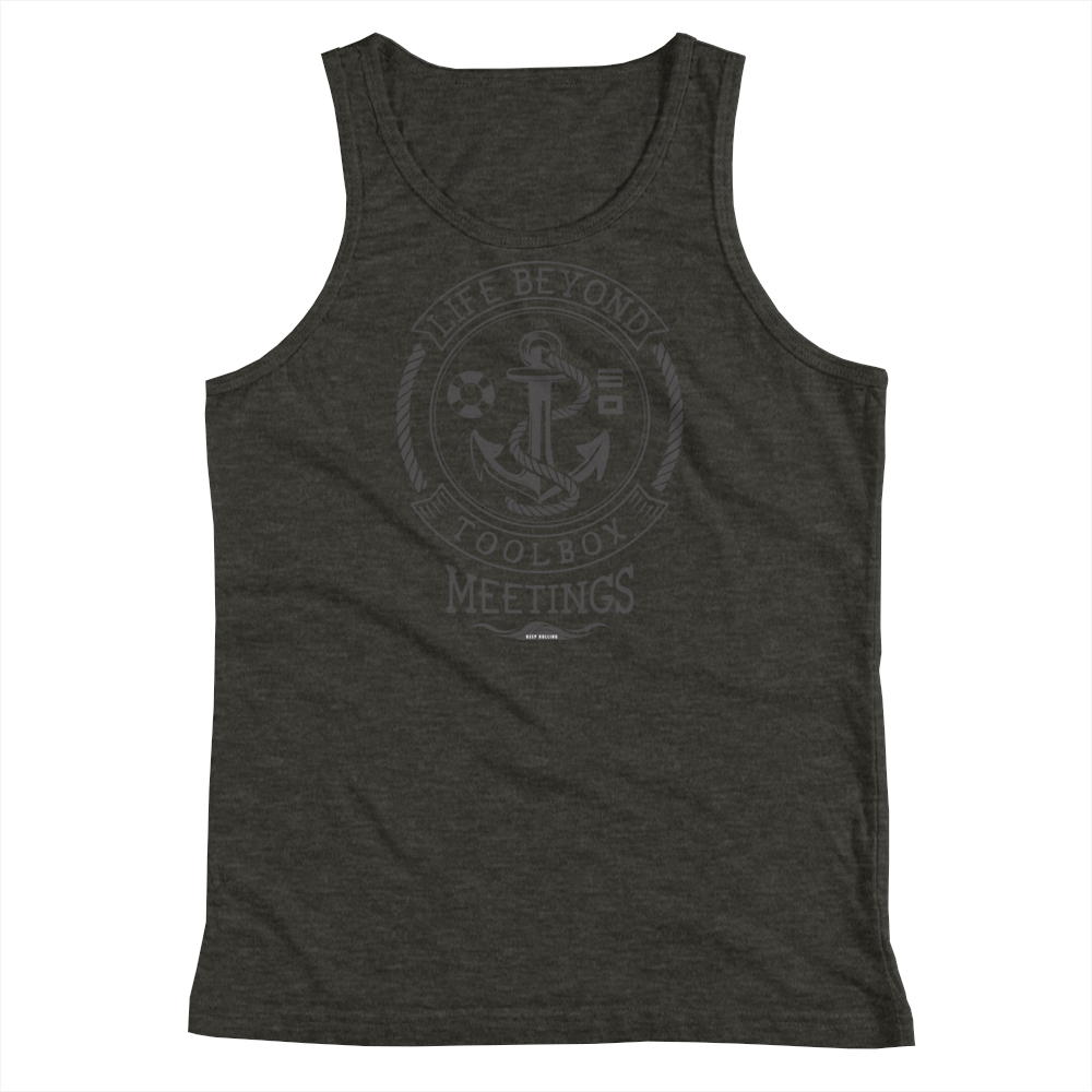 Black Toolbox Meetings - Tank Top - Life Beyond