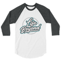 White Life Beyond - 3/4 sleeve raglan shirt - Life Beyond