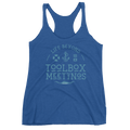 Blue Toolbox Meetings - Racerback Tank - Life Beyond