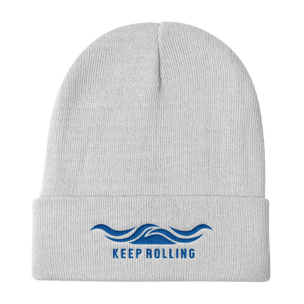 Keep Rolling - Knit Beanie - Life Beyond