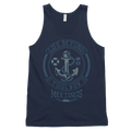 Dark Blue Toolbox Meetings - Classic tank top (unisex) - Life Beyond