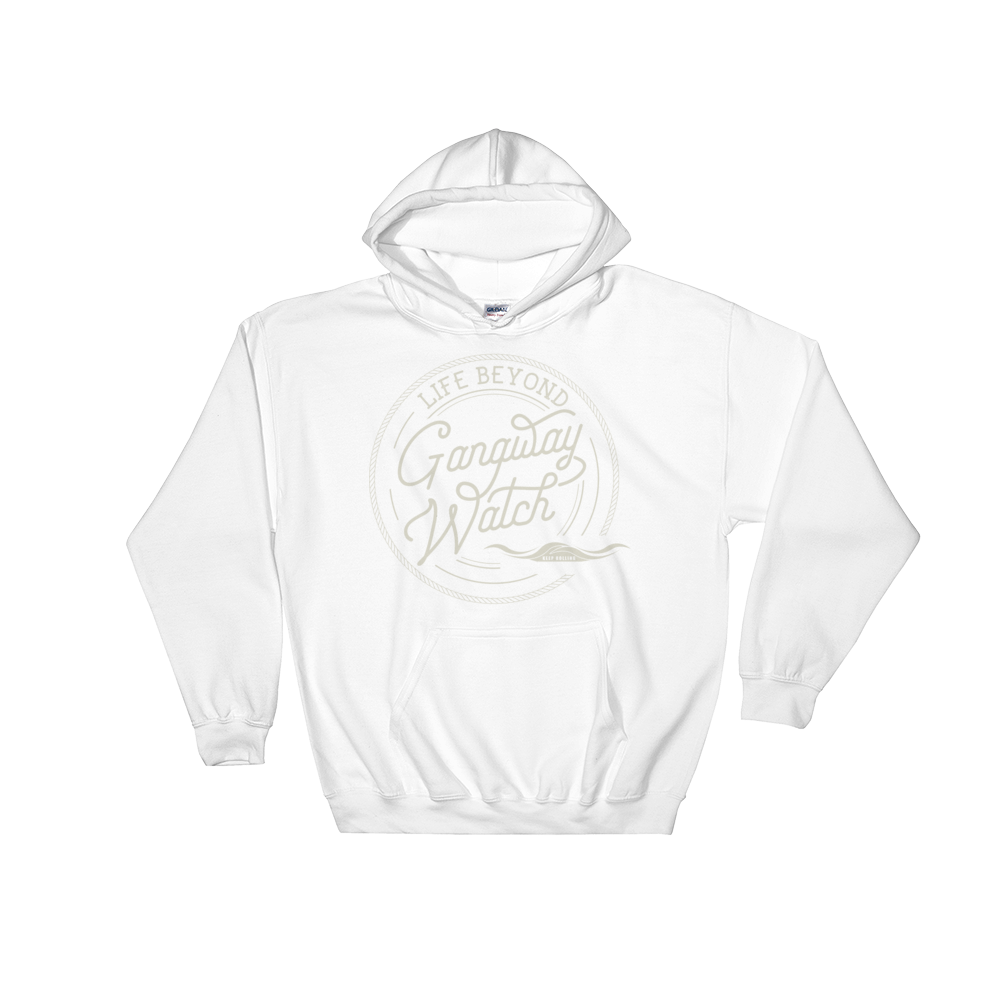 Cream Gangway - Hooded Sweatshirt - Life Beyond