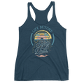 Tropical Safety Drills-  Racerback Tank - Life Beyond