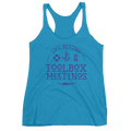 Purple Blue Toolbox Meetings - Racerback Tank - Life Beyond