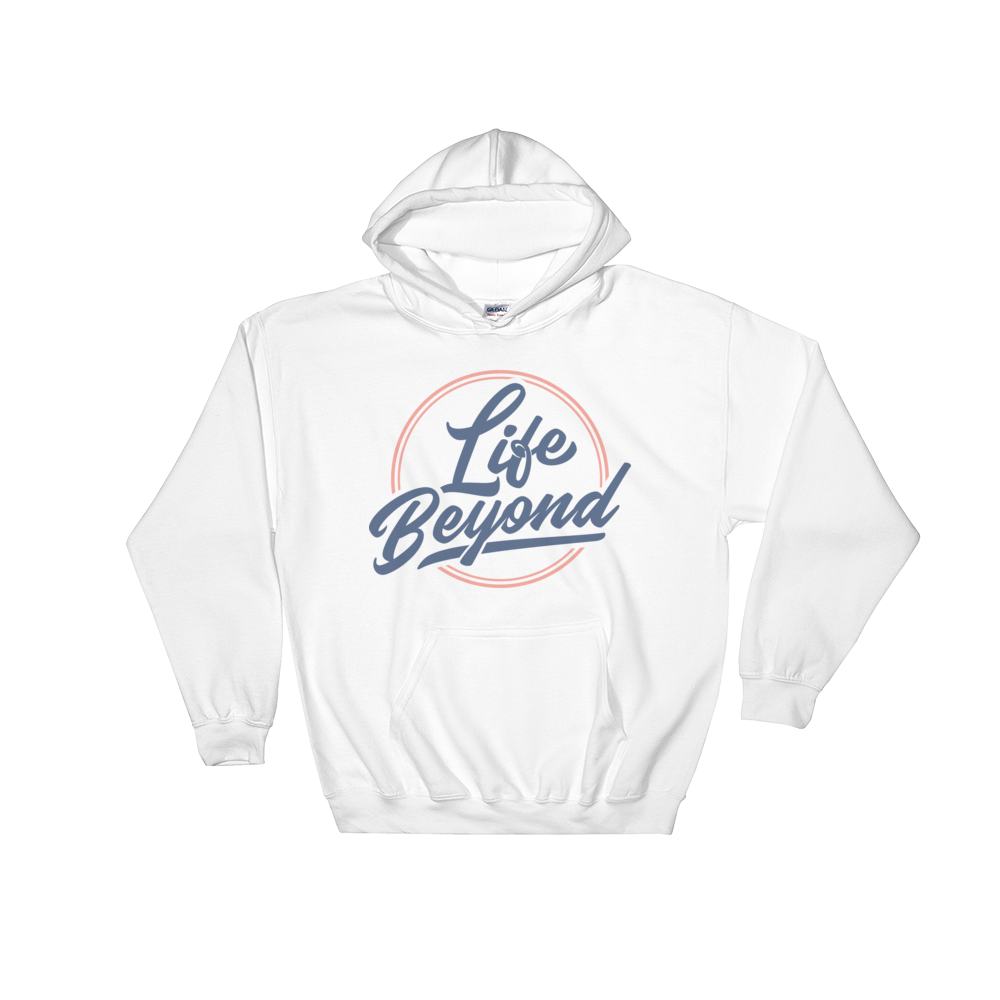 Blue Life Beyond - Hooded Sweatshirt - Life Beyond