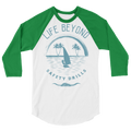 Blue Safety Drills - 3/4 sleeve raglan shirt - Life Beyond