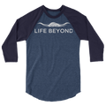 Cream Life Beyond - 3/4 sleeve raglan shirt - Life Beyond