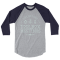 Cream Toolbox Meetings - 3/4 sleeve raglan shirt - Life Beyond
