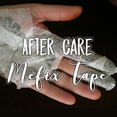 Aftercare: Fabric Medical Tape