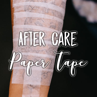 Aftercare: Paper Tape