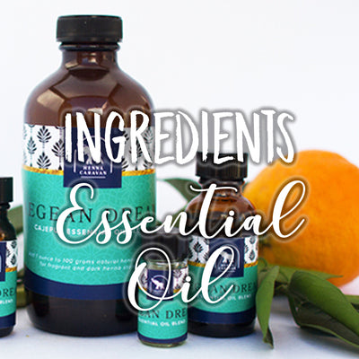 Ingredients: Essential Oils