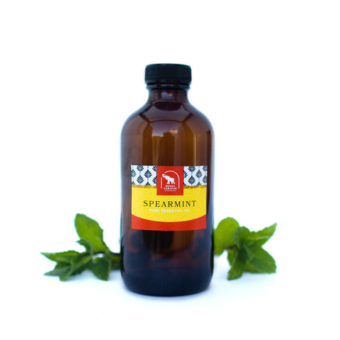 spearmint essential oil for professional henna