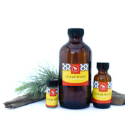 Cedar Wood essential oil in various sizes