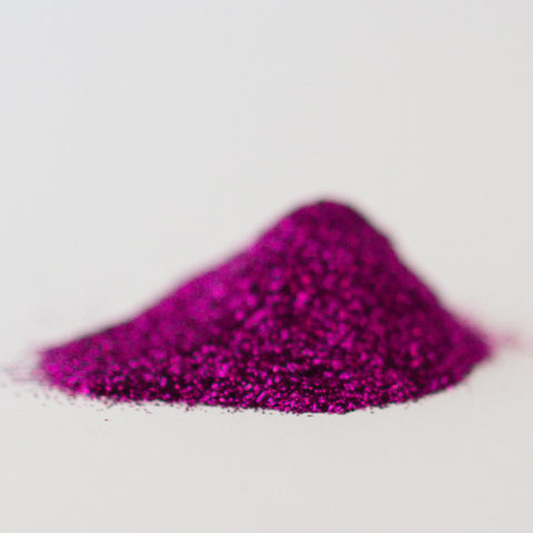 Fuschia Glitter Powder