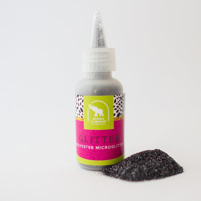 Gun Metal Glitter Powder