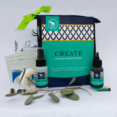 Create Henna Kit Aegean Dream