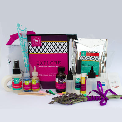 Explore Kit Organic Lavender Oasis Oil