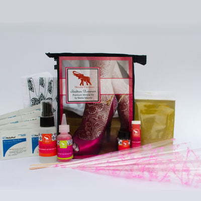 Indian Summer Fresh Henna Kit + Ebook