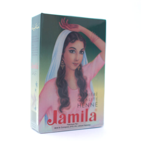 Jamila Henna Powder box