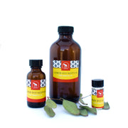 lemon eucalyptus essential oil in various sizes