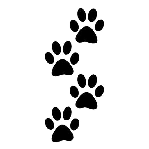 Paw Prints 4, large