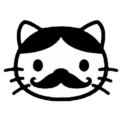 Hello Kitty Moustache