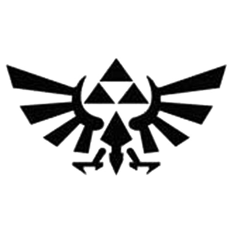 Zelda Triforce, large