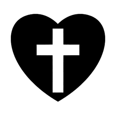 Heart with Cross Inside