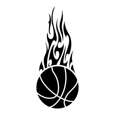 Basketball Flame, large