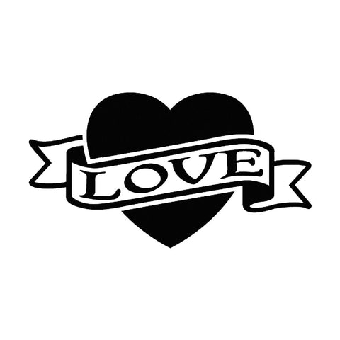 Love/Heart Banner, large