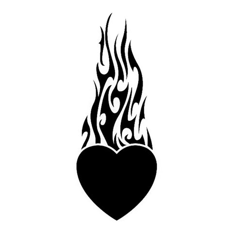 Flaming Heart, large