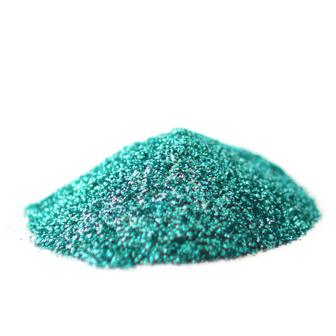 Aquamarine Blue Glitter Powder