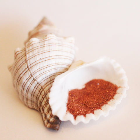 NEW! Paprika Biodegradable Glitter Powder