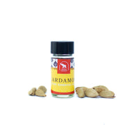 Cardamom essential oil in 2 dram bottle