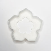 5 Petal Flower Henna Stamp, set of 4