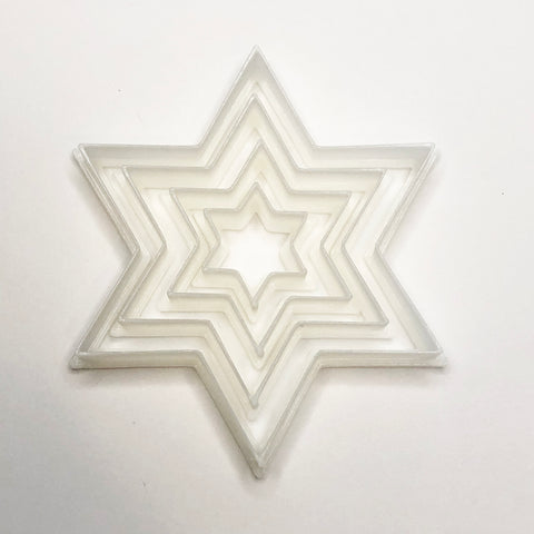 Star of David Henna Stamps, set of 4