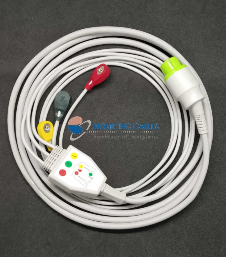 3 Lead ecg cable price