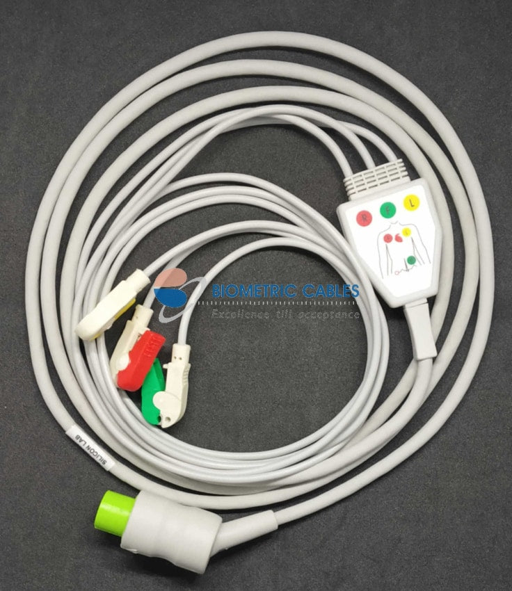 mindray ecg cable - 3 lead
