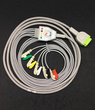Load image into Gallery viewer, GE 5Lead  Clip ECG Cable