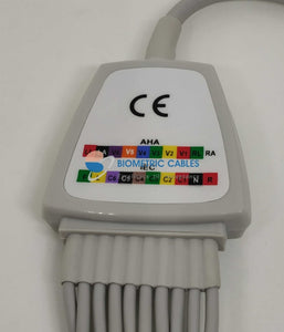 Ecg Recorder Cable Compatible For Aspel/bio Care/bpl/browndove/clarity Ecgrecorderingcables