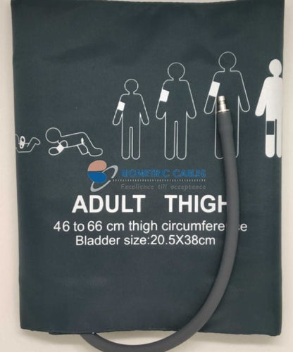thigh bp cuff single tube