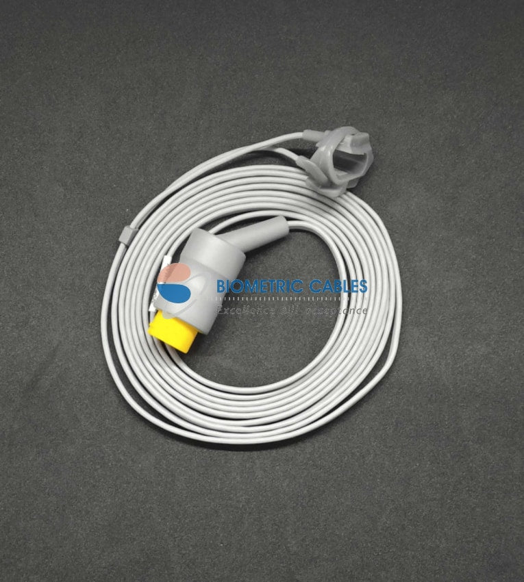Spo2 Pulse Oximeter Neonatal Wrap Probe 3.0 Mtr Compatible For L&t(12 Pin)/schiller