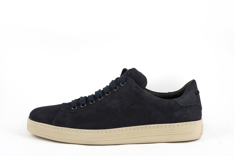 Tom Ford-Suede Low-Top Sneakers