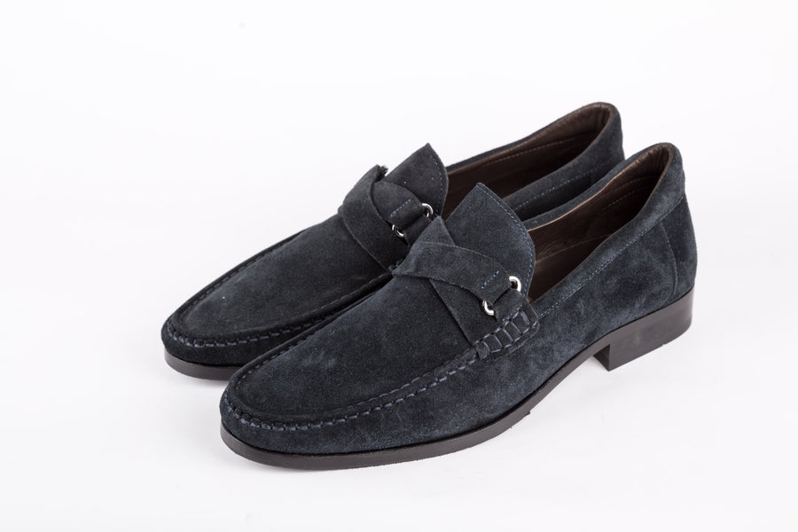 Bruno Magli-Gratello Navy Shoes
