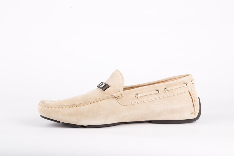 Iceberg-Softy Beige Loafer