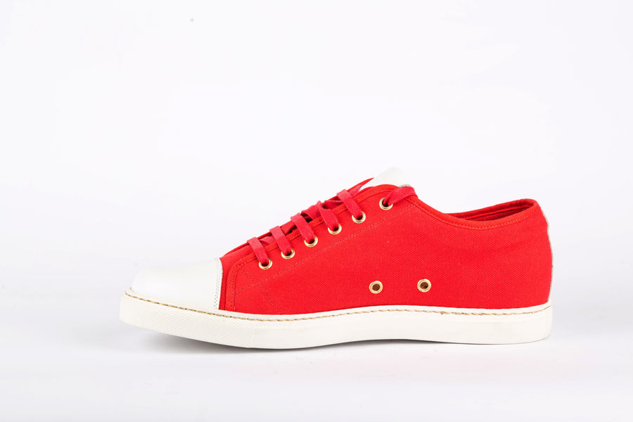 Marc Jacobs-Rosso/Bianco Sneakers