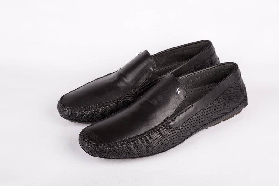Moreschi-Sar.For1 Nero Loafer