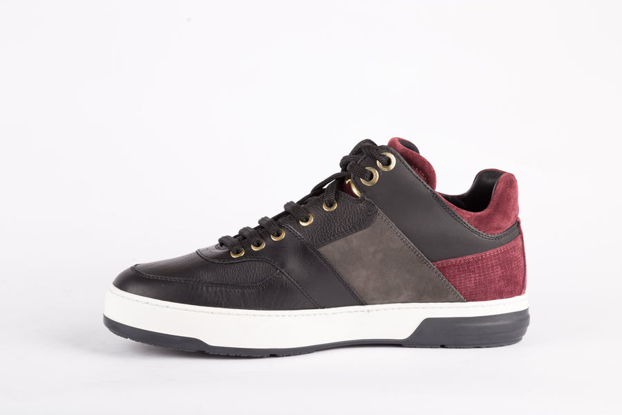 Salvatore Ferragamo-Monreo Pebble Sneakers