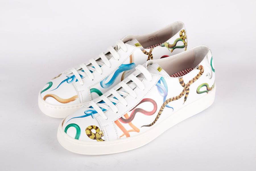 Santoni-Low Top Sneakers